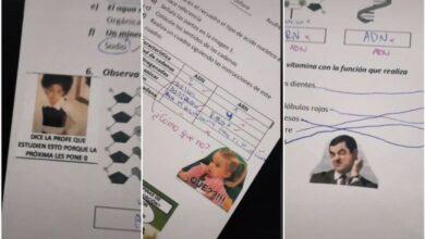Photo of Maestra califica exámenes con memes