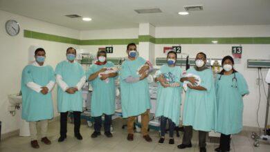 Photo of Nacen cuatrillizos en IMSS Sonora con salud óptima