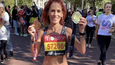 Photo of La leonesa Regina Yamín gana el Maratón de Londres
