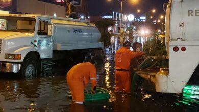 Photo of Intensas tareas de absorción y desazolve, tras fuertes lluvias en Mérida