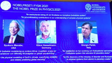 Photo of Nobel de Física a 3 científicos por descubrimientos sobre clima