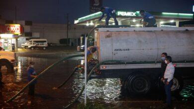 Photo of Atiende el Ayuntamiento de Mérida reportes de calles inundadas en el poniente de la ciudad