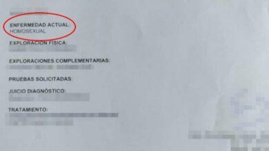 Photo of Ginecólogo español diagnostica la homosexualidad de un paciente como enfermedad